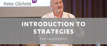 Introduction to Strategies for Salespeople