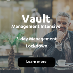 Vault Management Intensive
